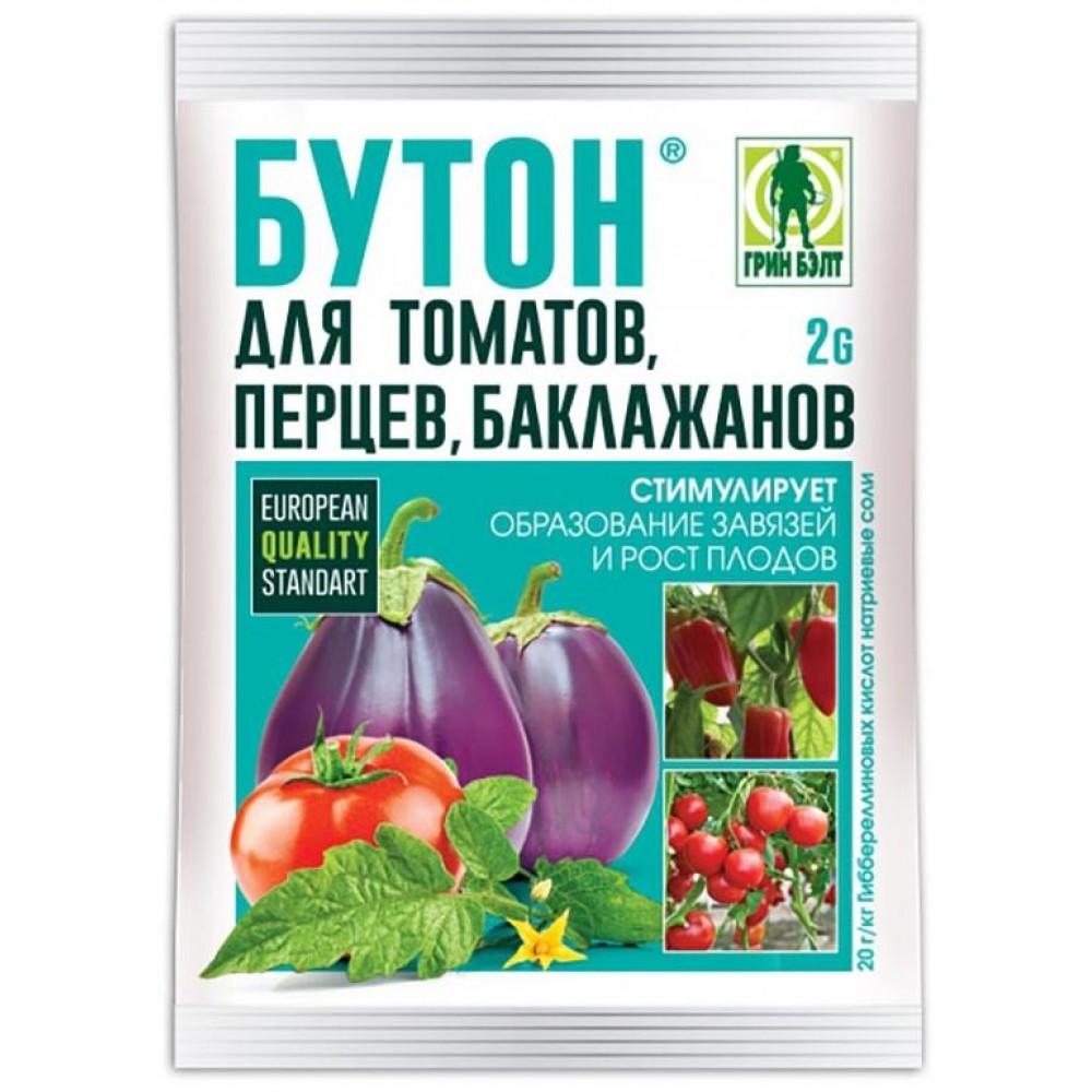 Стимулятор плодообразования БУТОН для томатов, перцев, баклажанов 2